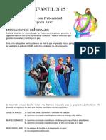 Temas Pascua Infantil 2015