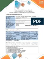 Guía de Actividades y Rúbrica de Evaluación - Fase 3 - Sustentar Los Resultados Del Estudio de Caso Propuesto