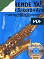 Aprende ya a tocar saxofon alto