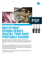 Mototrbo Dp4000 Series Portable Specifications