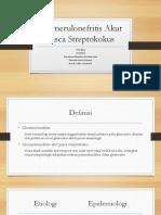 Glomerulonefritis Akut Pasca Streptokokus.pptx