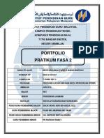 Muka Depan Portfolio Praktikum (Fasa )