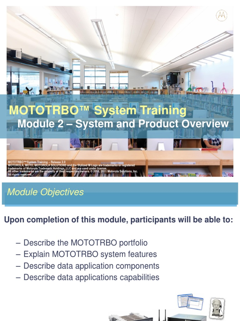 Module 2 System and Product Introduction | Telephone | Radio