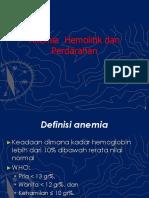 2.2.2.2 Anemia Hemolitik Imun Dan Anemia Perdarahan
