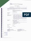 Ep Borneo - Sirim Test Report