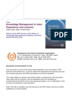 Knowledge Management in Asia