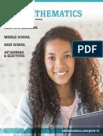 Catalogo de Matematicas 2018