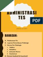 Minggu 5_administrasi Tes