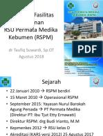 Profil RSPM Agustus 2018 Humas