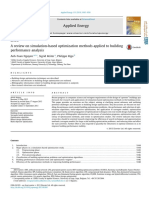 A Review on Simulation Based Optimization Methods Applied to Building Performance Analysis