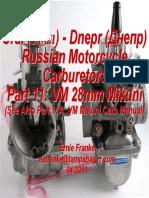 Part 11- Mikuni Carburetor