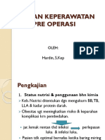 Asuhan Keperawatan Pre Opera