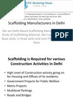 Scaffolding Manufacturers