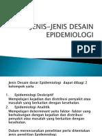 Jenis-jenis Desain Epidemiologi - Copy