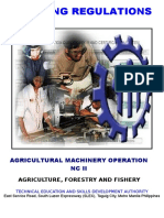 TR Agricultural Machinery Operation NC II.doc