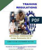 TR Artificial Insemination (Large Ruminants) NC II.doc