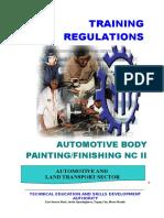 TR- Automotive Body Painting Finishing NC II.doc