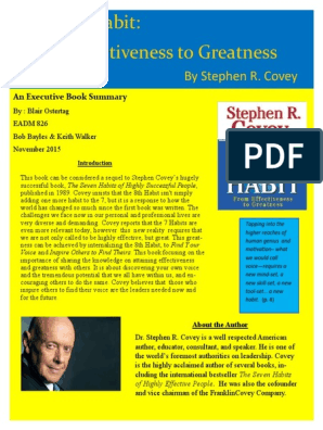 The wisdom and teachings of stephen r. covey pdf free. download full book