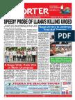 Bikol Reporter July 22 - 28, 2018 Issue