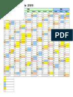 GCU Calendar 2018 2019 Version2