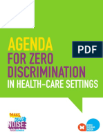 2017 Zero Discrimination Healthcare