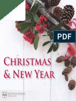 Botleigh Grange Christmas Brochure 2018