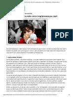 4 Probleme Din Viata Reala Care-i Ingrijoreaza Pe Copii - Sfatulparintilor.rosfatulparintilor.ro