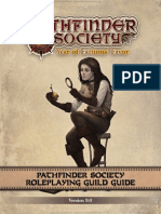 Pathfinder Society Roleplaying Guild Guide