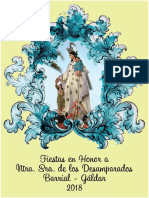 Programa Fiestas Barrial 2018