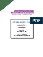 Eye Guide Book