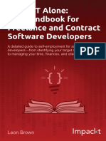 9781783001408-Going It Alone the Handbook for Freelance and Contract Software Developers