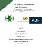 Daftar Absensi Perorangan Dokter Internship