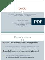 DAOO - Práctica 2017-18