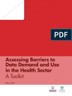 Assessing Barriers to Data Demand and Use in the Health Sector