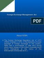 FEMA & FERA Presentation