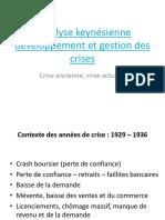 Analyse Keynesienne