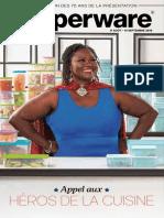Brochure Tupperware mi-aout