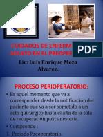 cuidadosdeenfermeriaaladultoenelpreoperatorio-131204110310-phpapp02