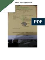 8.6.2.4 Dokumentasi Hasil Pemantauan