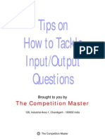 HowtoSolveInput_OutputQuestions