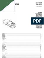 Manual DR900 Hach