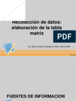 Recoleccion de datos