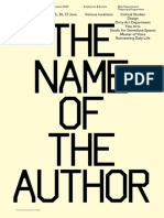 The Name of the Author