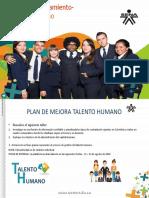 Plan de Mejora de Talento Humano