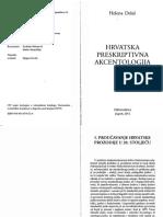 Helena Delaš - Hrvatska preskriptivna akcentologija