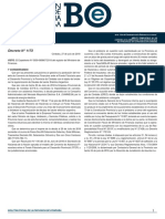 Decreto N° 1173 - Boletin Oficial - Miércoles 15/08/2018