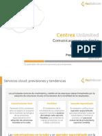 Presentacion de Producto Centrex Unlimited CANAL 2018 v02