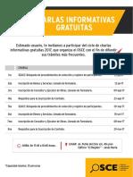 Charlas Informativas - Lima 2017