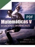 Matematicas v. Ecuaciones Diferenciales