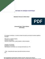 Methodes Numeriques OUTILS